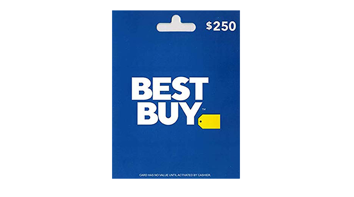$250 Best Buy Gift Card