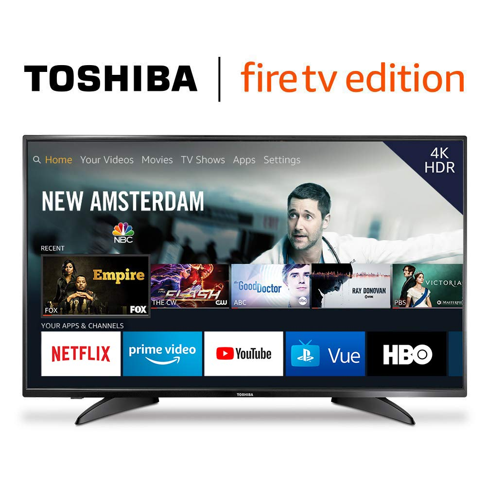 Toshiba 43LF621U19 43-inch 4K Ultra HD Smart LED TV HDR – Fire TV Edition