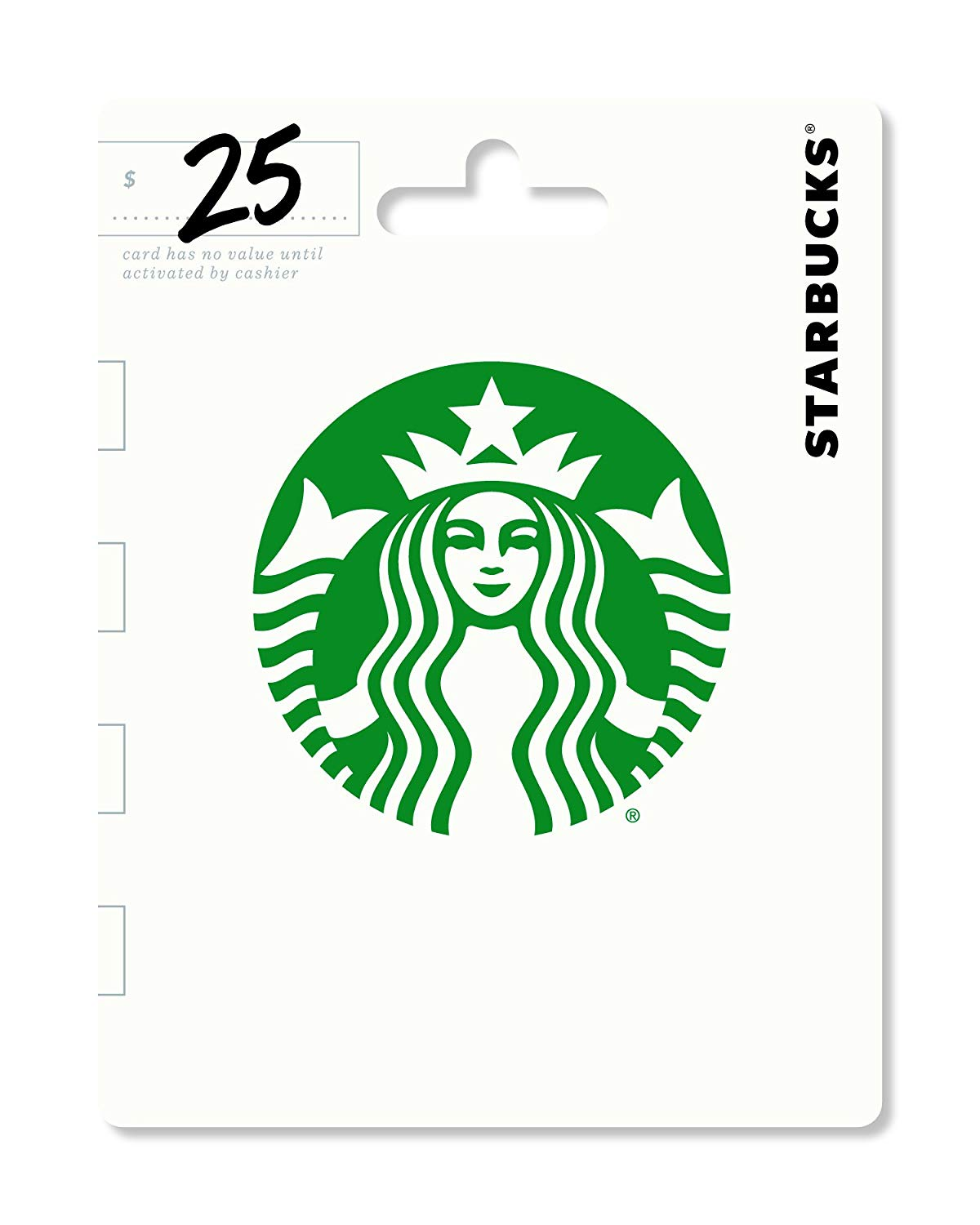 Starbucks $50 gift card