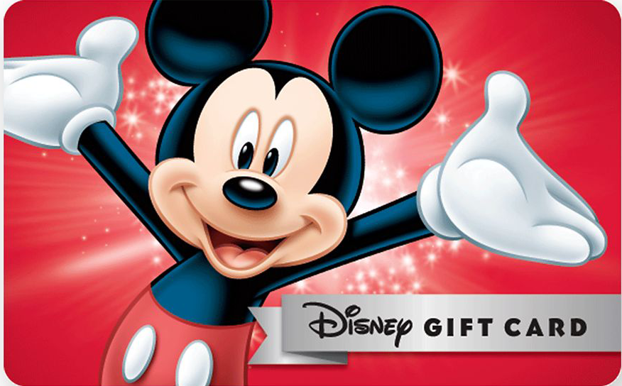 Disney $500 gift card giveaway