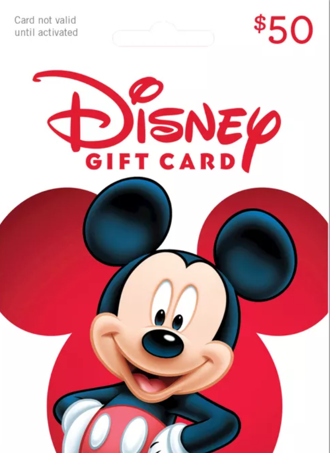 $50 Disney Gift Card Giveaway